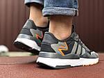 Мужские кроссовки Adidas Nite Jogger (серые) 9373, фото 3