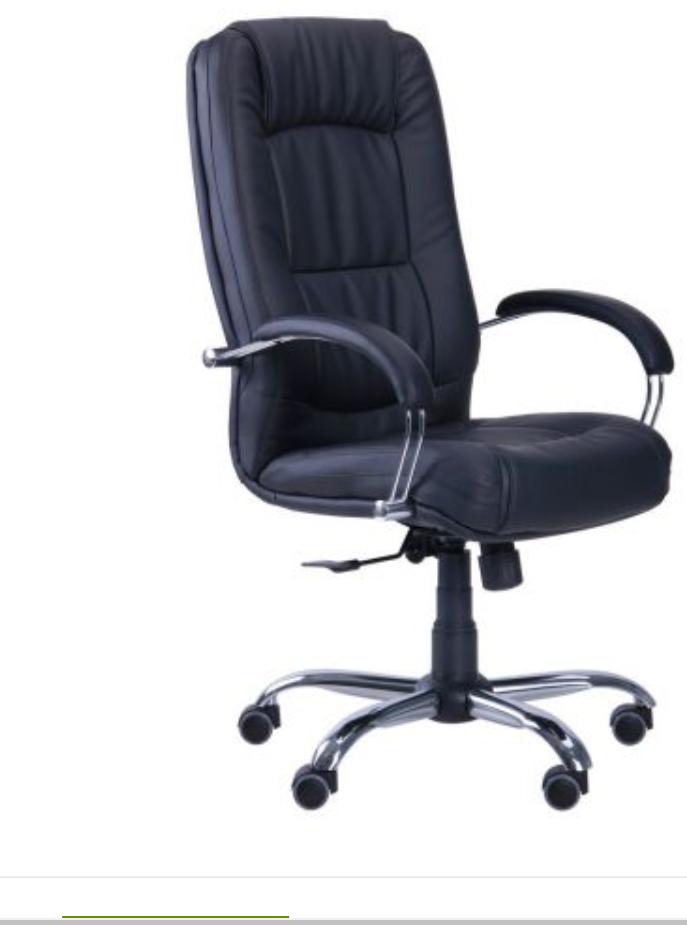 Крісло комп'ютерне Крісло Марсель Хром Неаполь - 20 ANYFIX
