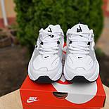 Женские кроссовки Nike M2k tekno белые с красным 37-41р. Живое фото. Реплика, фото 6