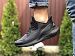 Мужские кроссовки Adidas Alphaboost (черные) 9377, фото 3
