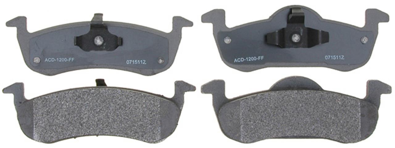 Колодки тормозные задние ACDELCO 14D1279M FORD EXPEDITION LINCOLN MKT LINCOLN NAVIGATOR