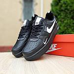 Мужские кроссовки Nike Air Force LV8 (черные) 10166, фото 3