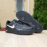 Мужские кроссовки Nike Air Force LV8 (черные) 10166, фото 4