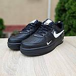 Мужские кроссовки Nike Air Force LV8 (черные) 10166, фото 8