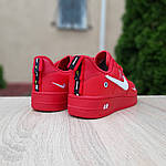 Мужские кроссовки Nike Air Force LV8 (красные) 10167, фото 4