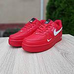 Мужские кроссовки Nike Air Force LV8 (красные) 10167, фото 5