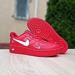 Мужские кроссовки Nike Air Force LV8 (красные) 10167, фото 6