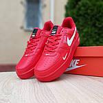 Мужские кроссовки Nike Air Force LV8 (красные) 10167, фото 7