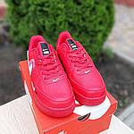 Мужские кроссовки Nike Air Force LV8 (красные) 10167, фото 9