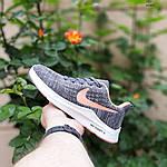 Женские кроссовки Nike ZOOM X (серо-розовые) 20120, фото 2