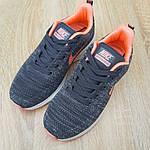 Женские кроссовки Nike ZOOM X (серо-розовые) 20120, фото 5