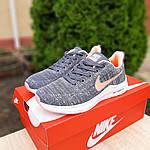 Женские кроссовки Nike ZOOM X (серо-розовые) 20120, фото 9