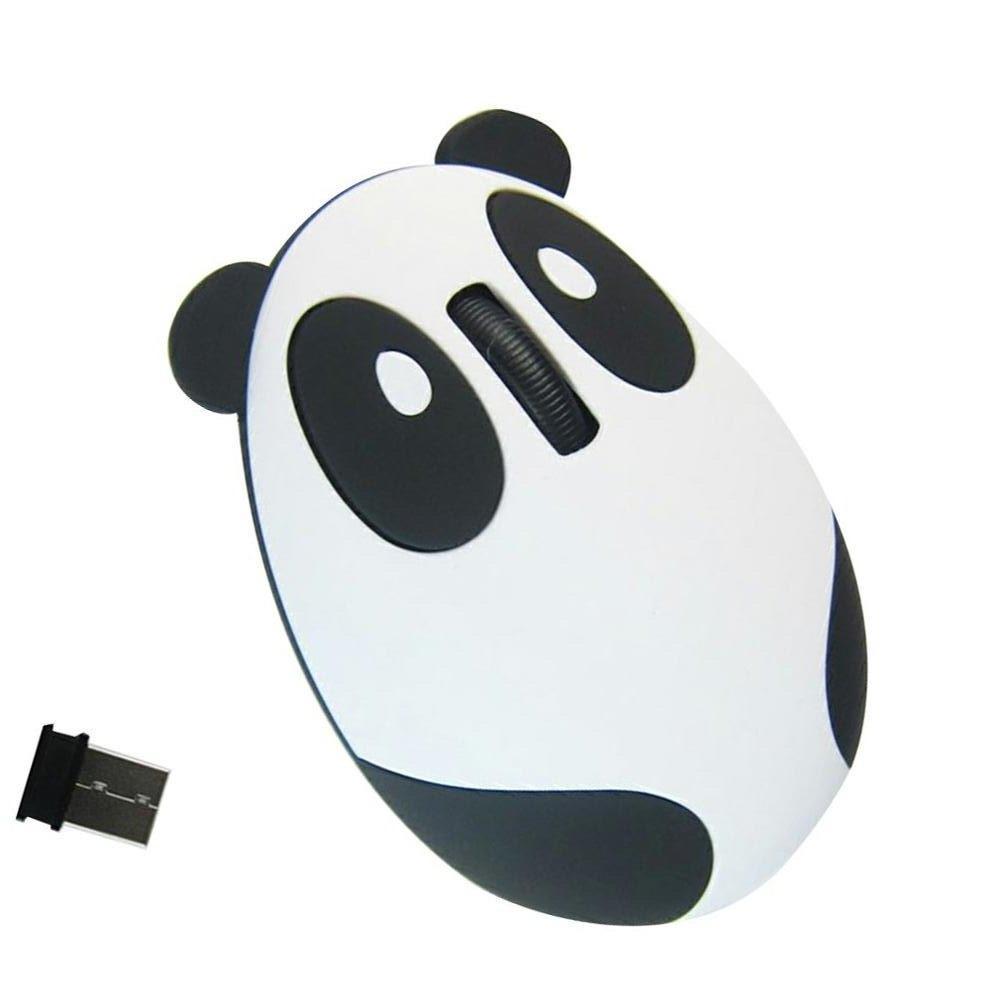 Беспроводная мышь Панда со встроенным аккумулятором