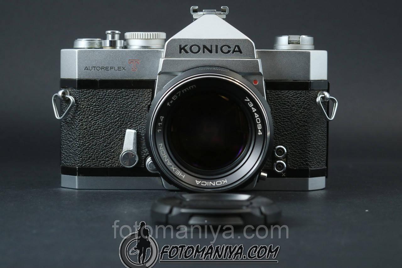 Konica autoreflex T kit Konica Hexanon 57mm f1.4
