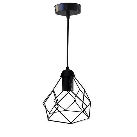 """Подвесной металлический светильник, современный стиль, loft, vintage, modern style """"RUBY"""" Е27  черный цвет, фото 2"""
