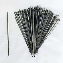 Кабельные стяжки Optima 200х4 мм черные (упаковка 100 штук)