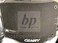Коврики салона (ворсовые, текстильные) латекс Toyota Camry xv55 (Тойота Камри 55 кузов 2014-2017)
