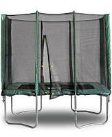 Прямоугольный батут с защитной сеткой 215 х 150 см. KIDIGO™