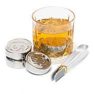 Набор стальных монет для охлаждения виски Monet, фото 3