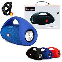 Портативная колонка JBL Boombox Mini / Беспроводная Bluetooth колонка + Фитнес-браслет в Подарок