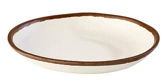 Тарелка мелкая - 20.5 х h 3 см, Белая (APS)