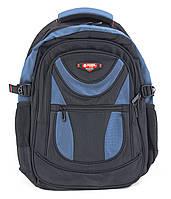 Рюкзак 6196 Power London черный с синим