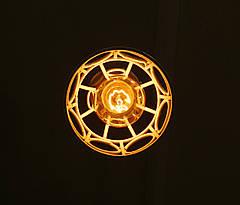 """Подвесной металлический светильник, современный стиль, loft, vintage, modern style """"RINGS-W"""" Е27  черный белый, фото 2"""