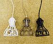 """Подвесной металлический светильник, современный стиль, loft, vintage, modern style """"RINGS-W"""" Е27  черный белый, фото 5"""