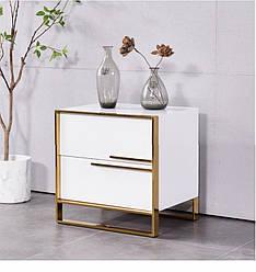 Прикроватная тумбочка Nordic Gold. Модель 4-100.