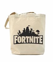 Еко-сумка, шоппер з принтом повсякденна Fotrnite