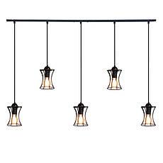 """Подвесной металлический светильник, современный стиль, loft  """"SANDBOX-5"""" Е27  черный цвет, фото 3"""
