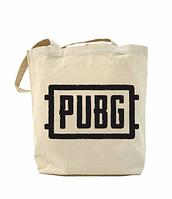 Еко-сумка, шоппер з принтом повсякденна PUBG