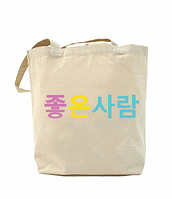 Еко-сумка, шоппер з принтом повсякденна Конч за 500