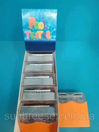 Тестер рН/хлор в оранж.коробке