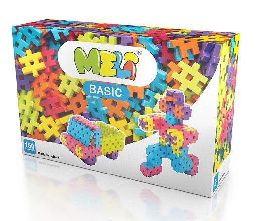 Конструктор BASIC 150 элм. (2,5х2,5см)MELI