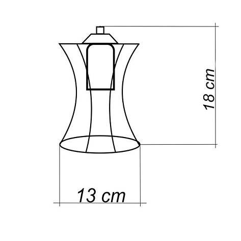 """Подвесной металлический светильник, современный стиль """"SANDBOX-4W"""" Е27  белый цвет, фото 2"""