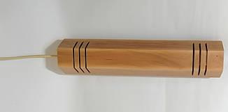 """Подвесной светильник """"MONA-5"""" Е27 натуральное дерево, светлое дерево, лофт освещение, фото 3"""