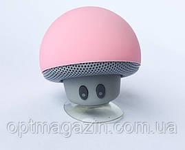 Мини-колонка Гриб 3Вт Bluetooth 4.1 с микрофоном на присоске Черный