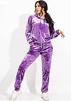 Бархатный женский спортивный костюм S-M M-L