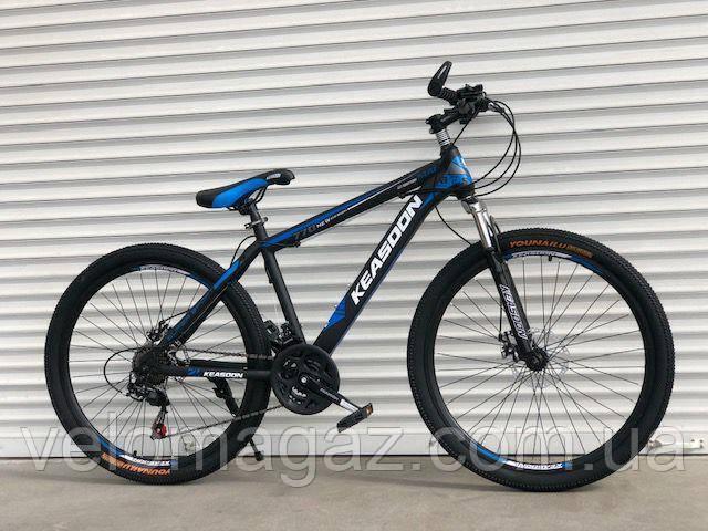 """Велосипед горный TopRider-01 26"""" синий"""