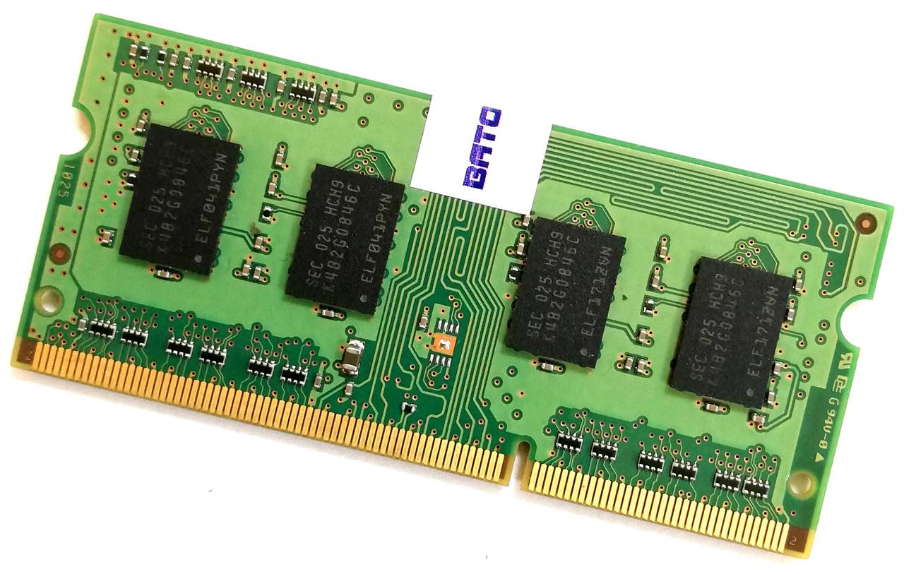 Оперативная память для ноутбука Samsung SODIMM DDR3 2Gb 1333MHz 10600S CL9 (M471B5773CHS-CH9) Б/У