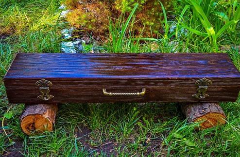 """Дорогой элитный подарок мужчине - набор дизайнерских шампуров """"Vikings"""" с аксессуарами, в кейсе из дерева, фото 2"""