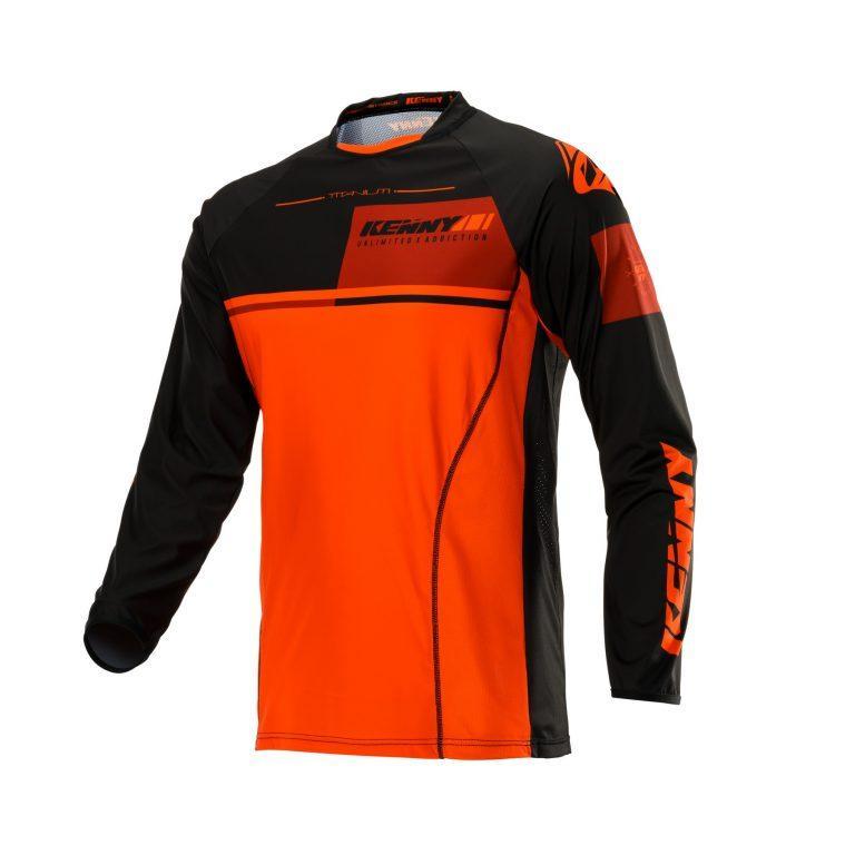 Джерси для мотокросса Kenny Titanium 2020 Black/Orange