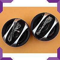 Автоакустика, автомобильные динамики, акустика в машину SP-1042,круглые,чёрный