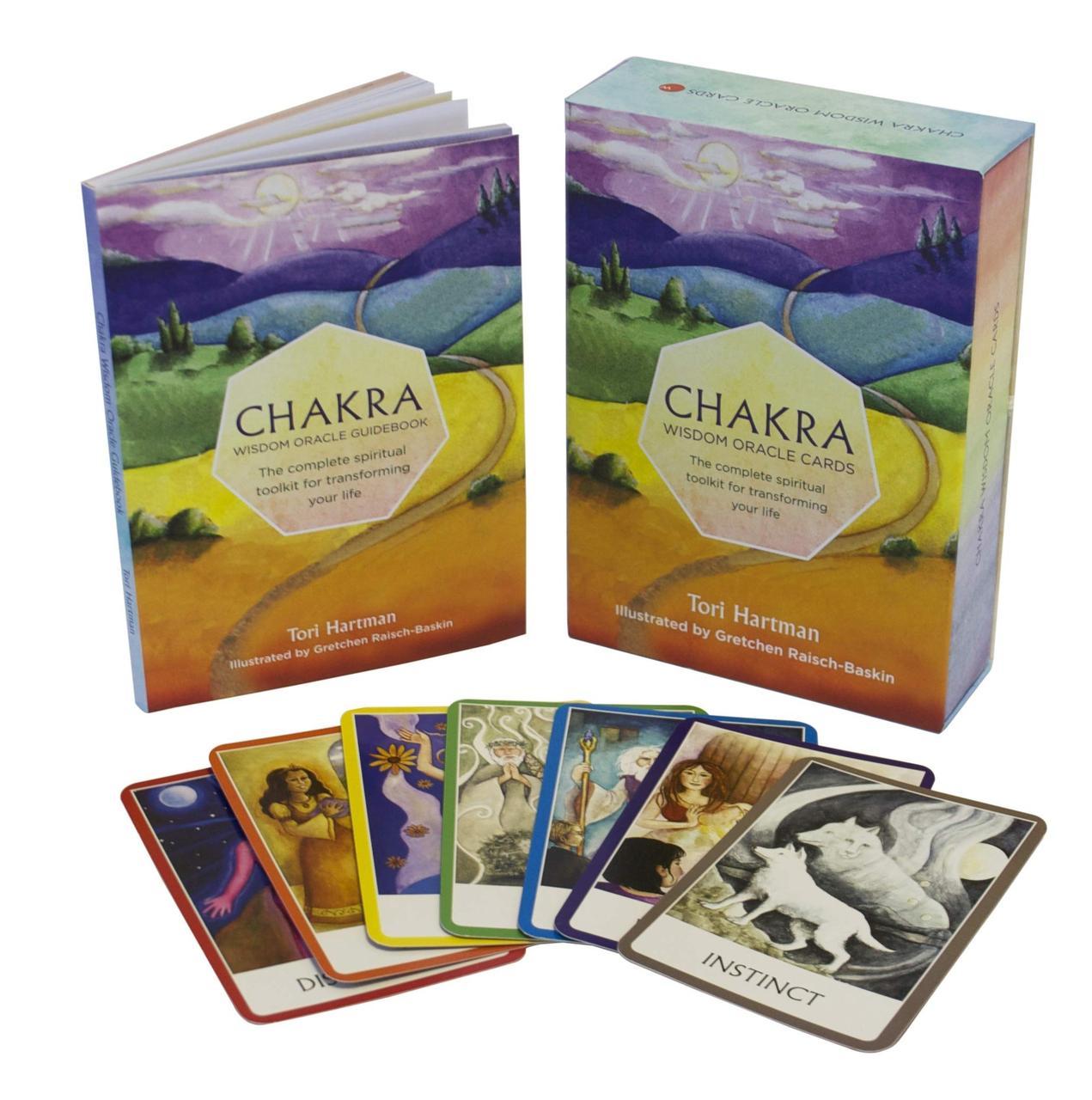 Chakra Wisdom Oracle Cards/ Карты-оракул. Чакры источник мудрости