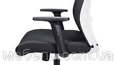 Кресло для врача Barsky BM-04 White/Black, сеточное кресло, черный / белый, фото 3
