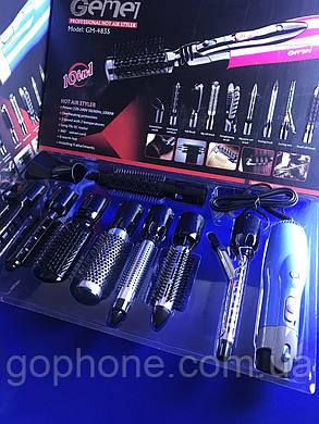Функциональный фен для волос Gemei GM-4835, фото 2