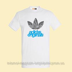 """Чоловіча футболка з принтом """"Adidas originals"""""""