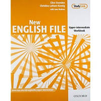 New English File Upper-Intermediate Workbook with key and MultiROM