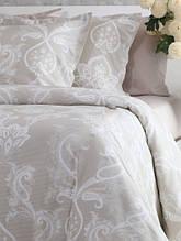 Комплект постельного белья семейный 160*220*2 сатин TM PAVIA Carlotte bej
